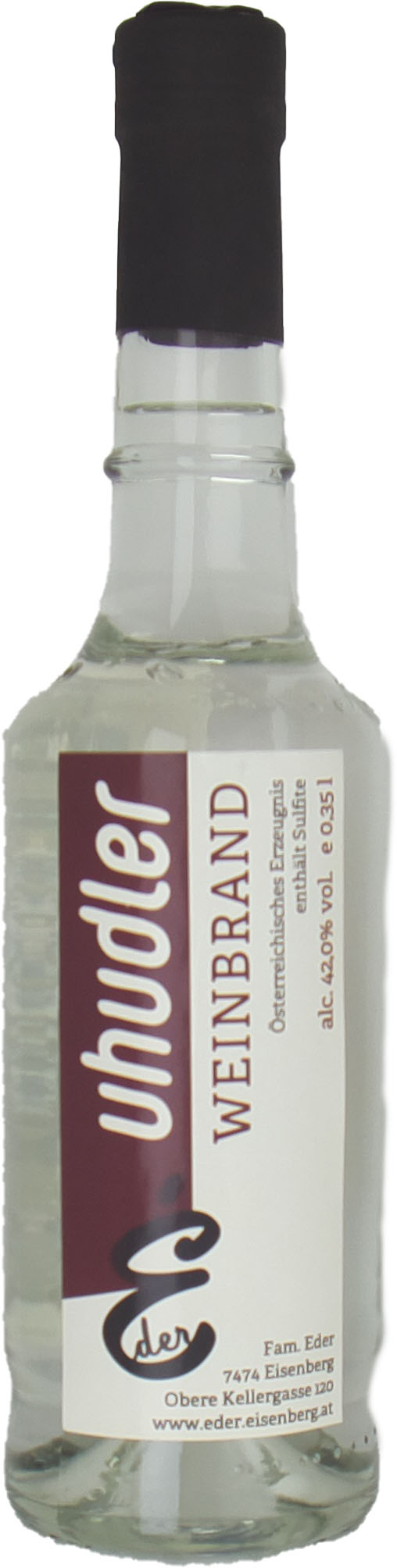 Uhudler Traubenbrand 0,35 l